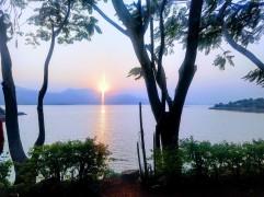Sunset at Pawana