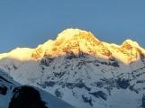 Sunrise on Annapurna Massif