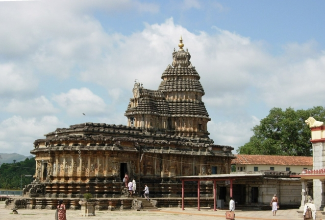 Vidyashankara_Temple_at_Shringeri